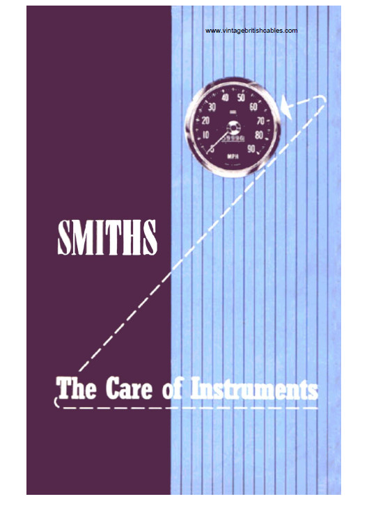 Care of Smiths Instruments