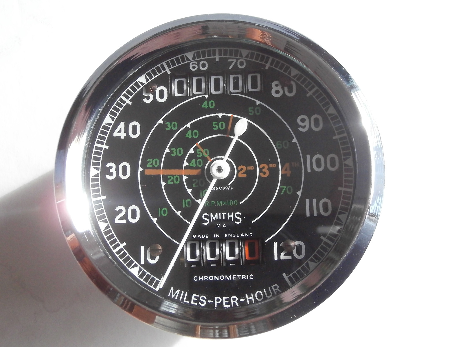 Cable Driven Tachometer